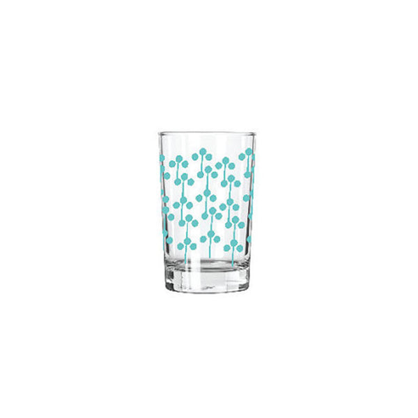 Erin Flett Juice Glass: Aqua