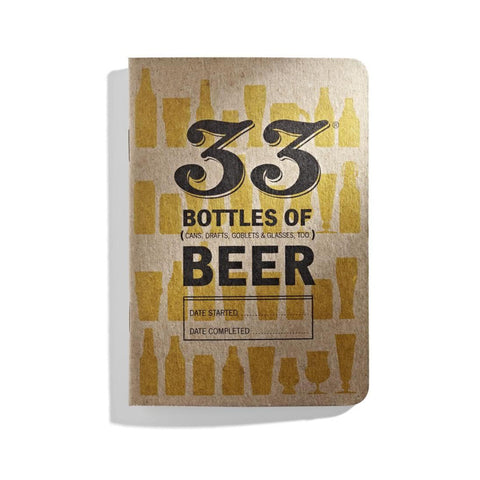 Pocket Tasting Journal- 33 Bottles of Beer