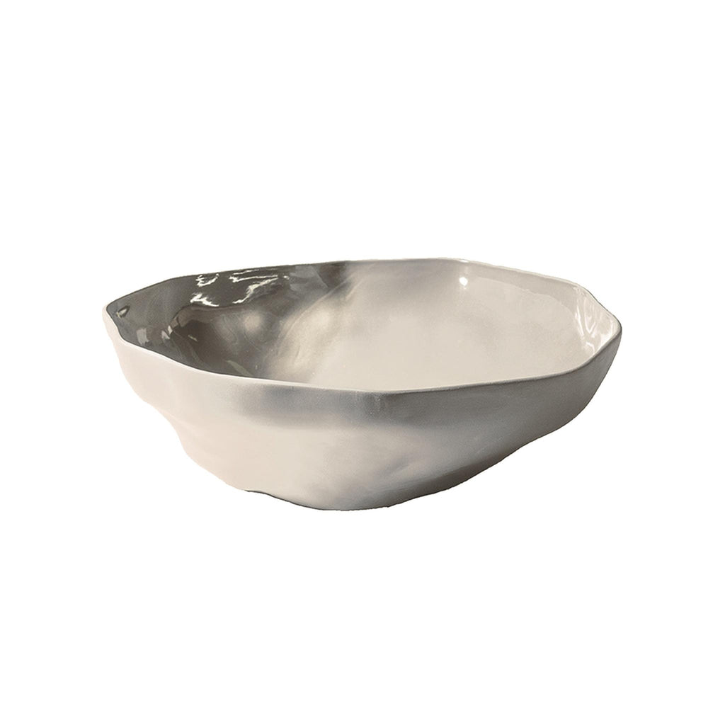 Stoneware Serving Bowl - Sterling Grey