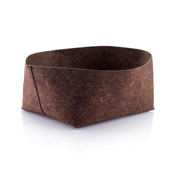 Adjust A Bowl Soft Cork Bowl - Dark Brown