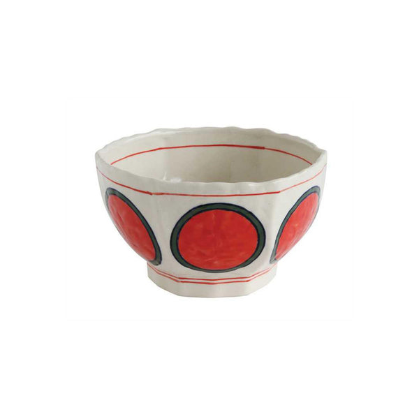 Circles Hand-painted Bowl