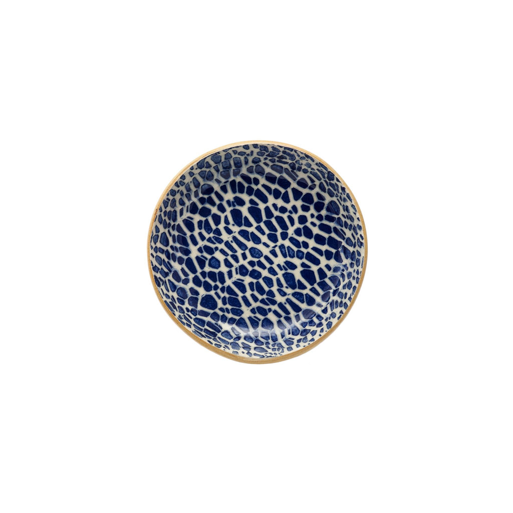Pebble Cobalt Fruit Bowl