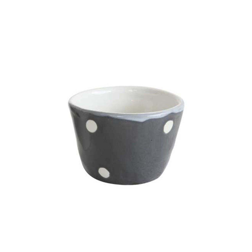 Polka Dot Bowl - Black