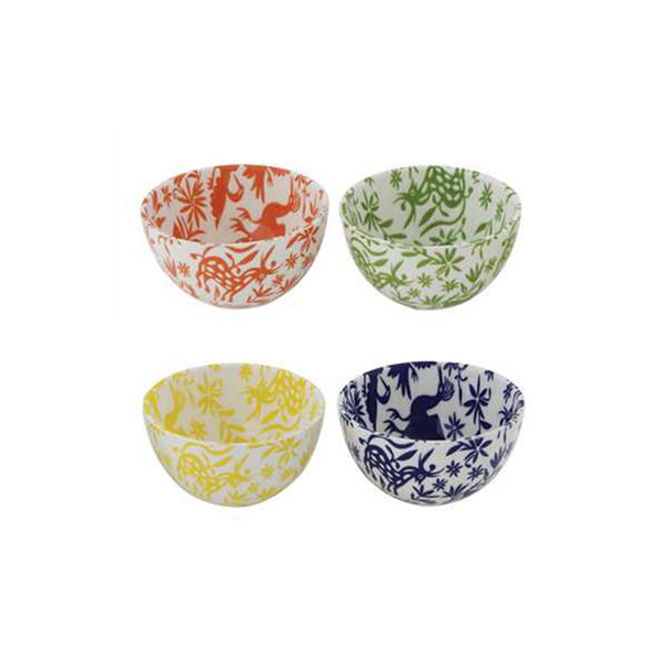 Oaxaca Patterned Bowls - Assorted Colors