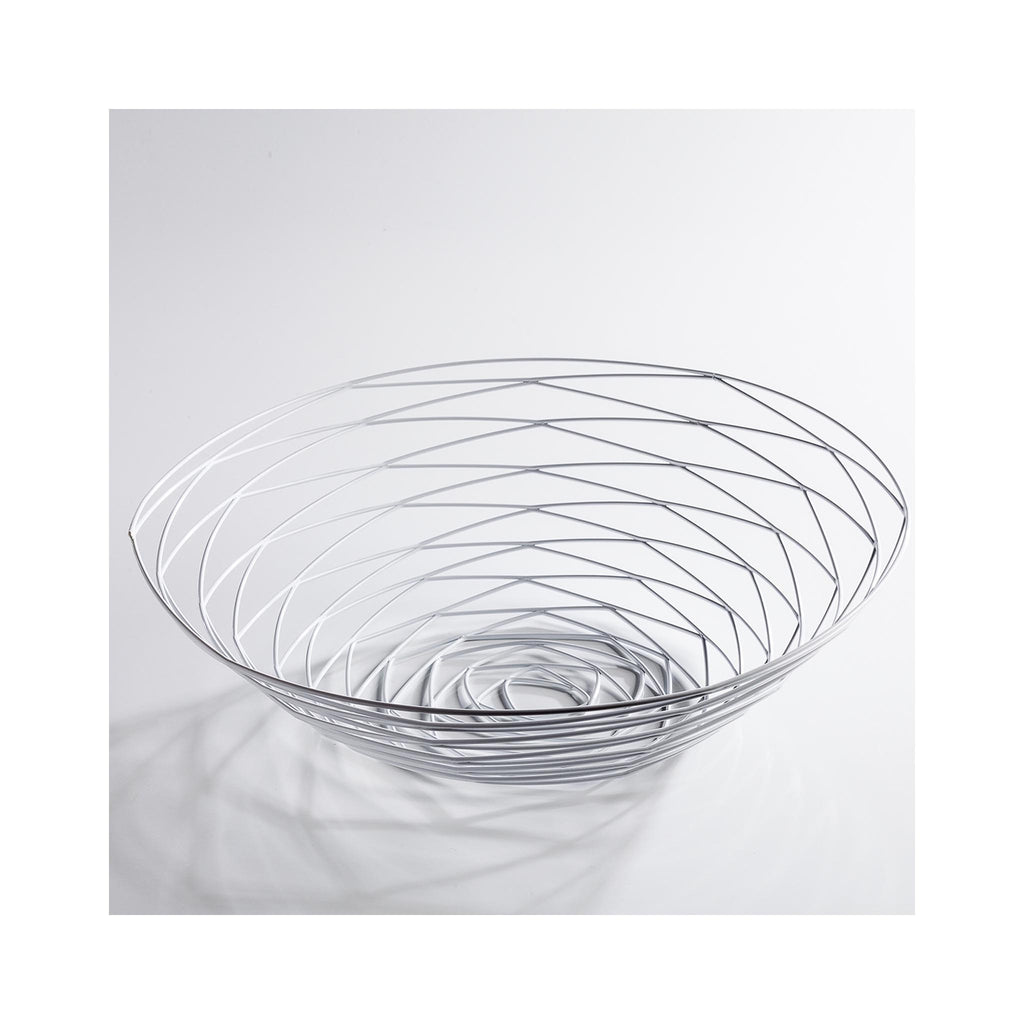 Weave Bowl - White Wide