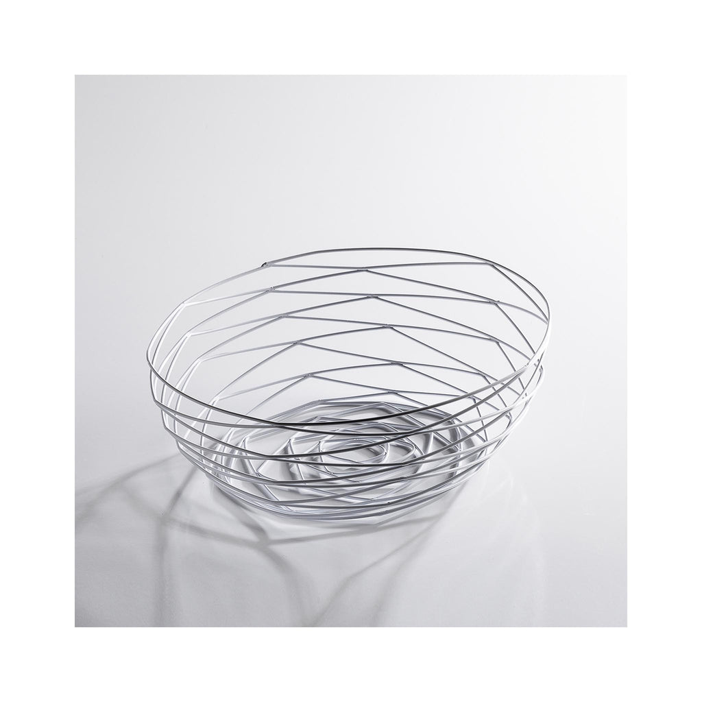 Weave Bowl - White Short