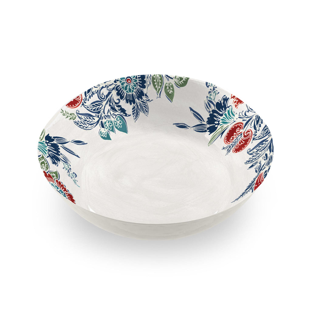 Havana Floral Melamine Serving Bowl