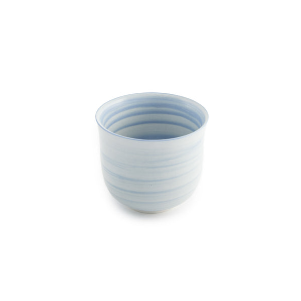 Conical Tulip Tea Cup - Cornflower Blue
