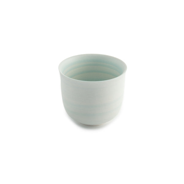 Conical Tulip Tea Cup - Robin's Egg Green