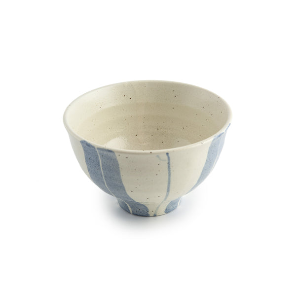 Donburi Bowl - Blue Lines