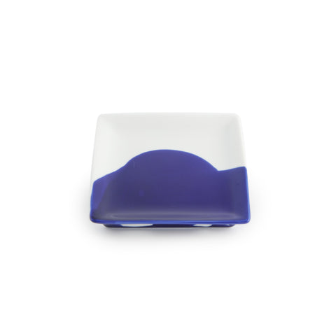 Japanese Abstract Square Sauce Dish