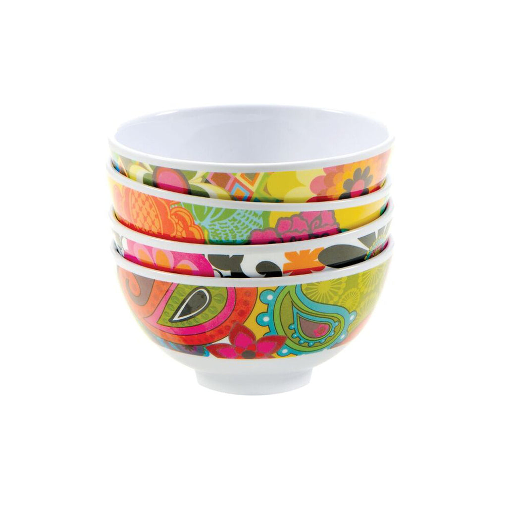French Bull Mini Floral Bowl Set of 4