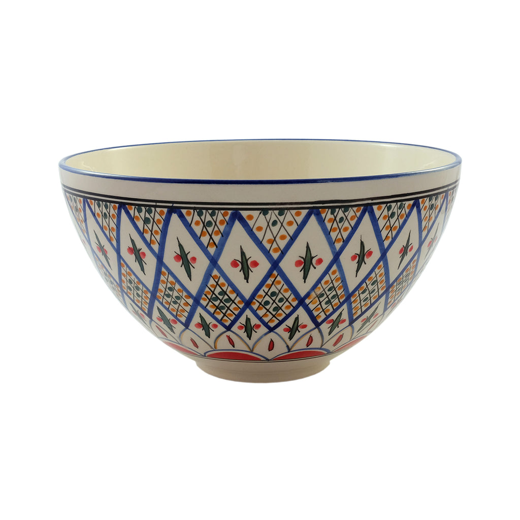 Sobremesa Ceramic Deep Salad Bowl