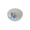 Blue & White Reactive Glaze Stoneware Bowl - Small