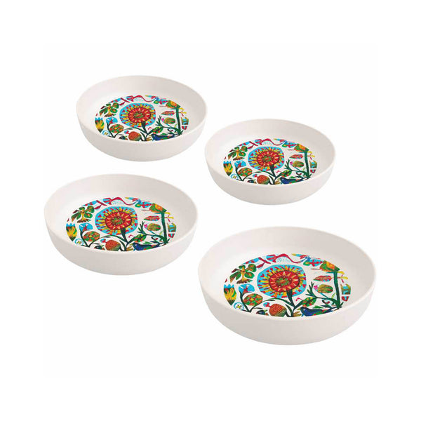 Quito Bamboo Salad Bowls Set of 4