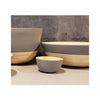Spun Bamboo Two-Tone Bowls - Dark Grey - Small