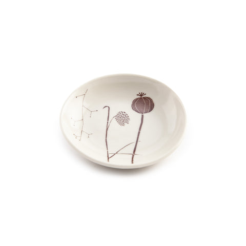 Gleena Ceramics Jewelry Dish - Pilgrim Waters - Ivory