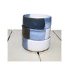 Dip Bowl - Blue Tricolor - stack of 3