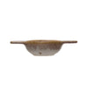 Reactive Glaze Stoneware Tea Strainer - side view
