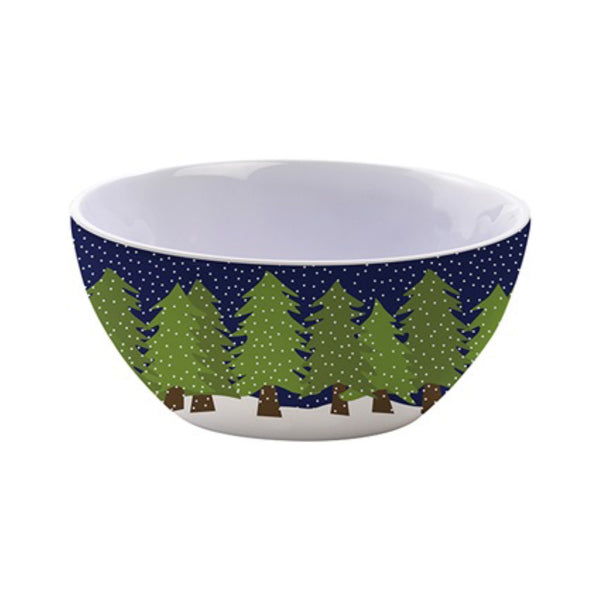Kate Nelligan Midnight Snow Dipping Bowl