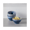 Latte Bowls - Blue - in use