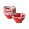 Latte Bowls - Red
