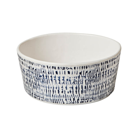 Tribal Blue Melamine Soup Bowl