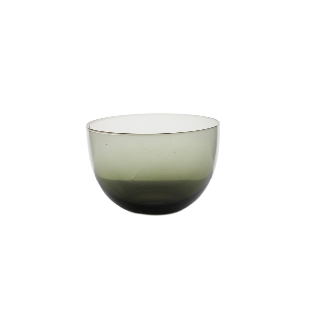Como Glass Bowl - Black