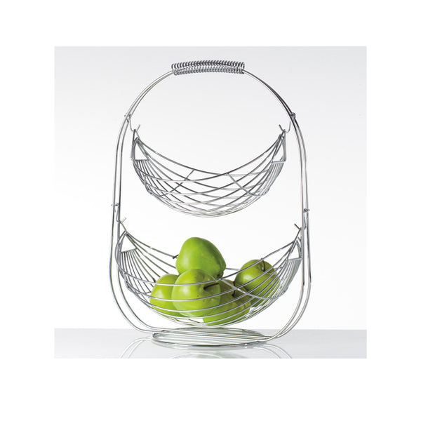 Swinging Fruit Basket - Double Tier