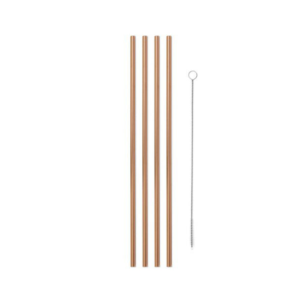 Porter Metal Straws - Copper
