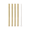 Natural Bamboo Straw Set of 8