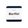 Bierfilzl Wool Felt Coaster Set of 4 - Marine