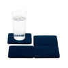 Bierfilzl Wool Felt Coaster Set of 4 - Marine in use