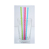 Dotted Paper Party Straws in glass