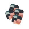 Abstract Coasters Set of 4 - Abstract Geo