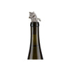 Cat Bottle Stopper - in use