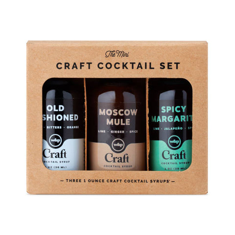 Cocktail Syrup Set - Mini