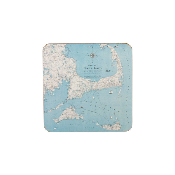 Cape Cod & Islands Coaster Set of 4