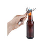 Acacia Stag Bottle Opener in Use