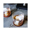 Leather Dotted Coaster Set of 4 - Lifestyle shot