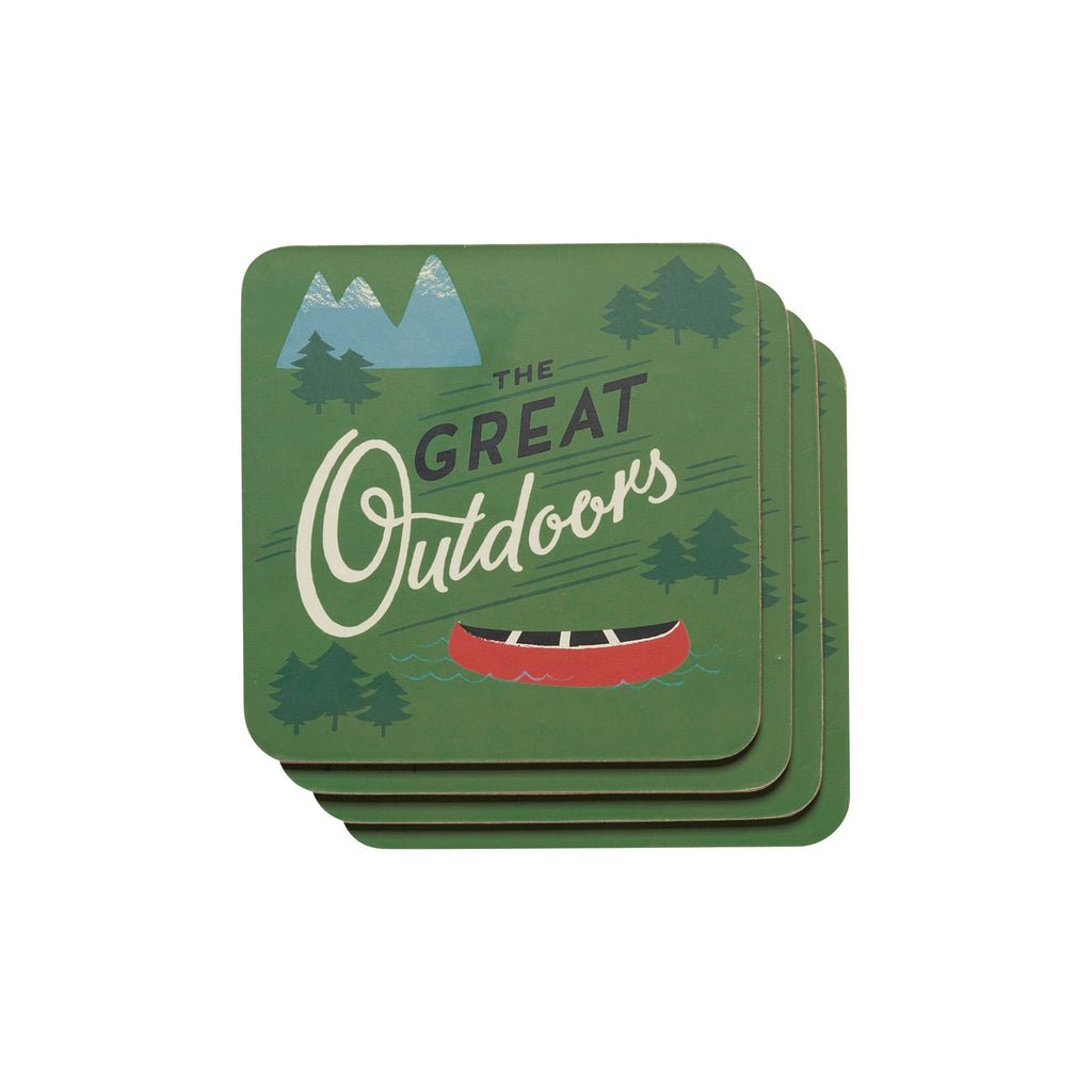 Great Outdoors Coaster Set of 4