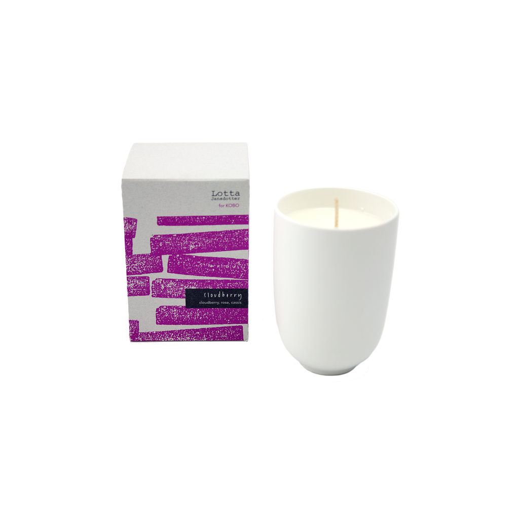 Lotta Jansdotter Soy Candle - Cloudberry