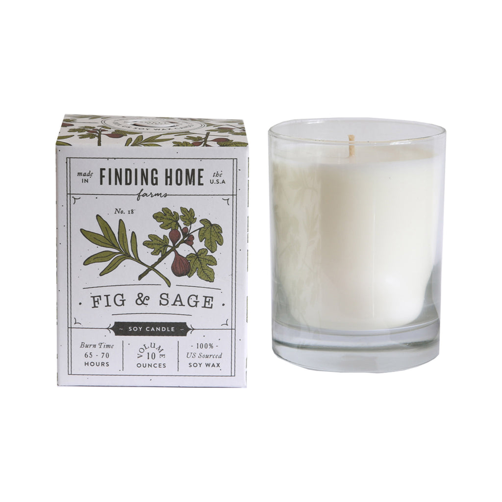 Finding Home Farms Soy Candle - Fig & Sage