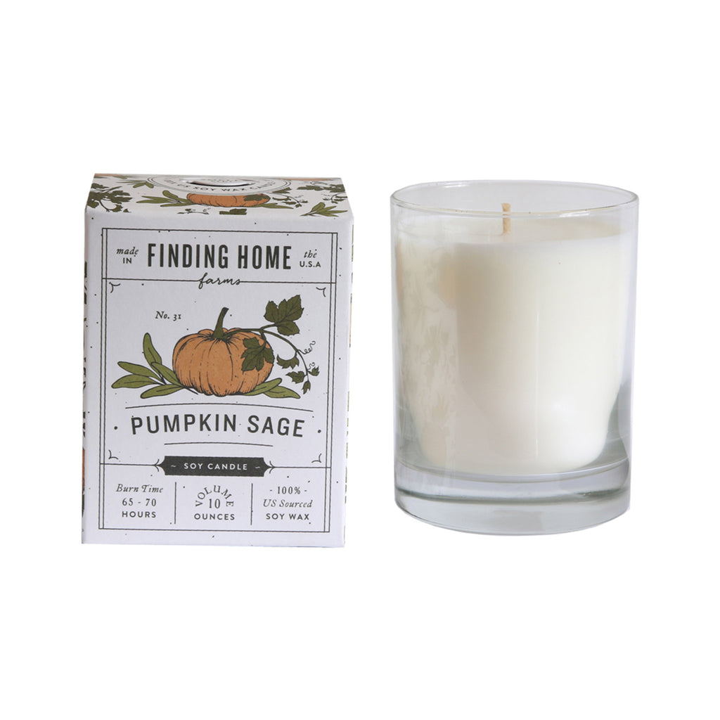 Finding Home Farms Soy Candle - Pumpkin Sage