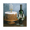 Birthday Candelabra on cake
