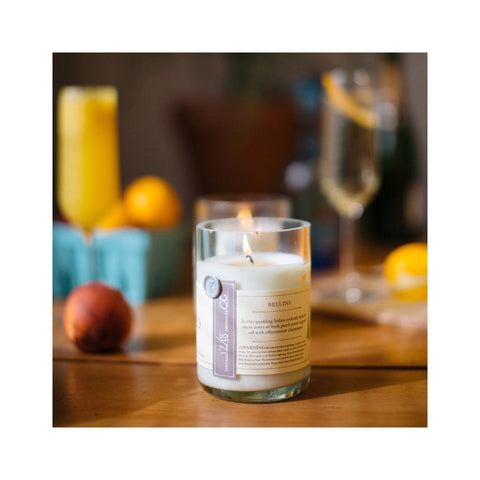 Rewined Bellini Soy Candle