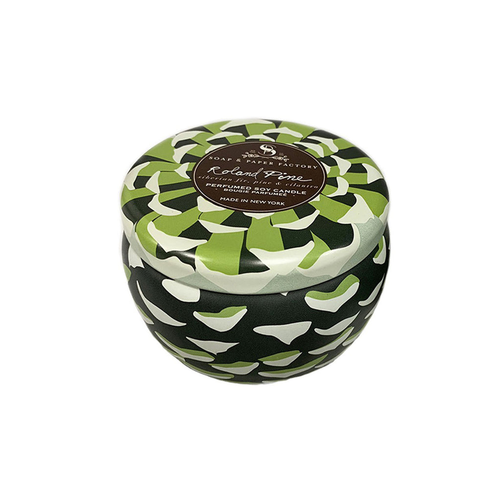 Roland Pine Single Wick Tin Candle - Large