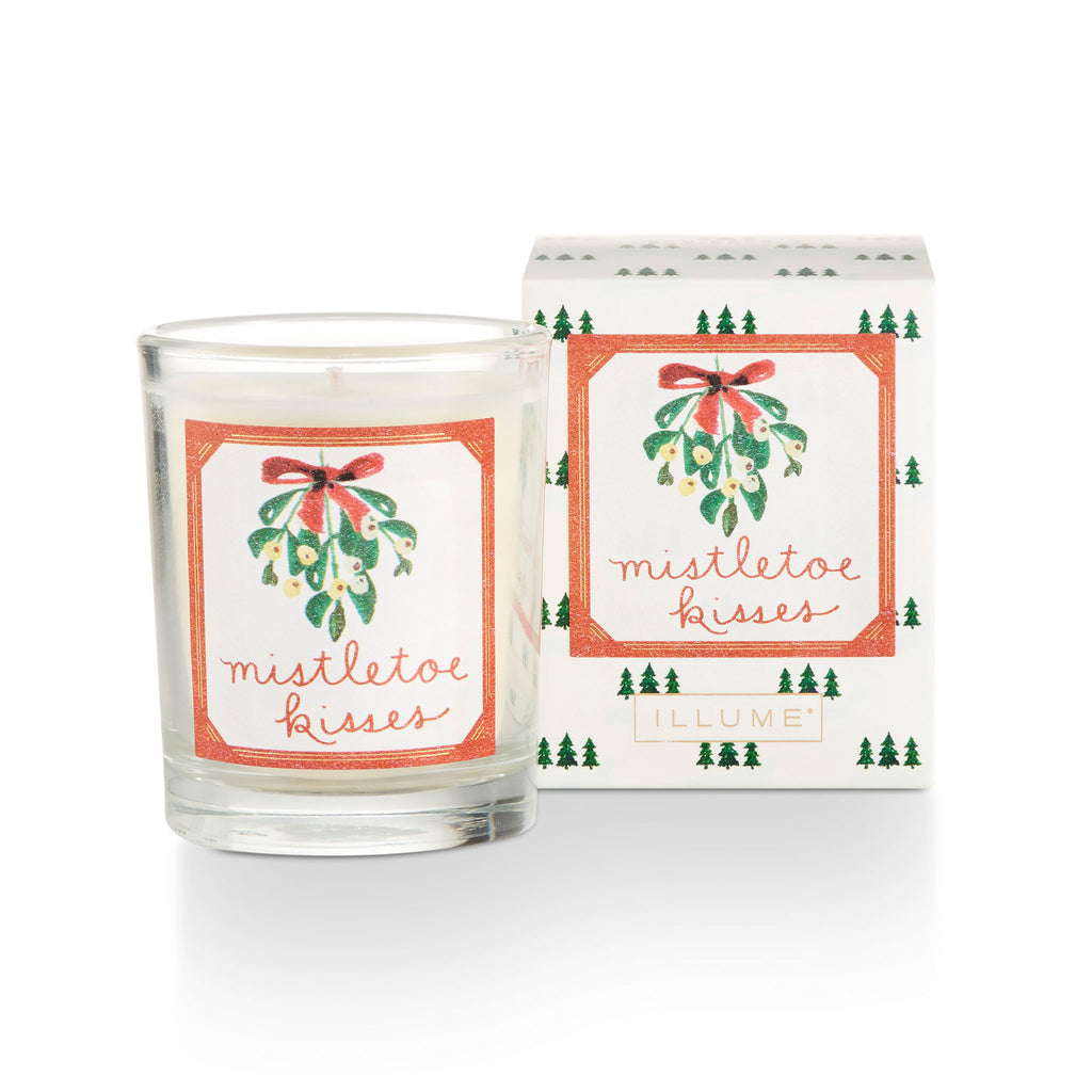 Mistletoe Kisses Boxed Votive
