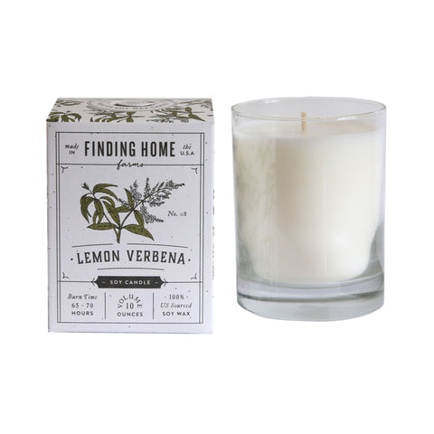 Finding Home Farms Soy Candle - Lemon Verbena
