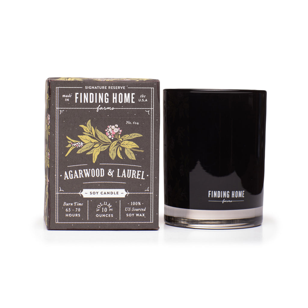Finding Home Farms Soy Candle - Agarwood & Laurel